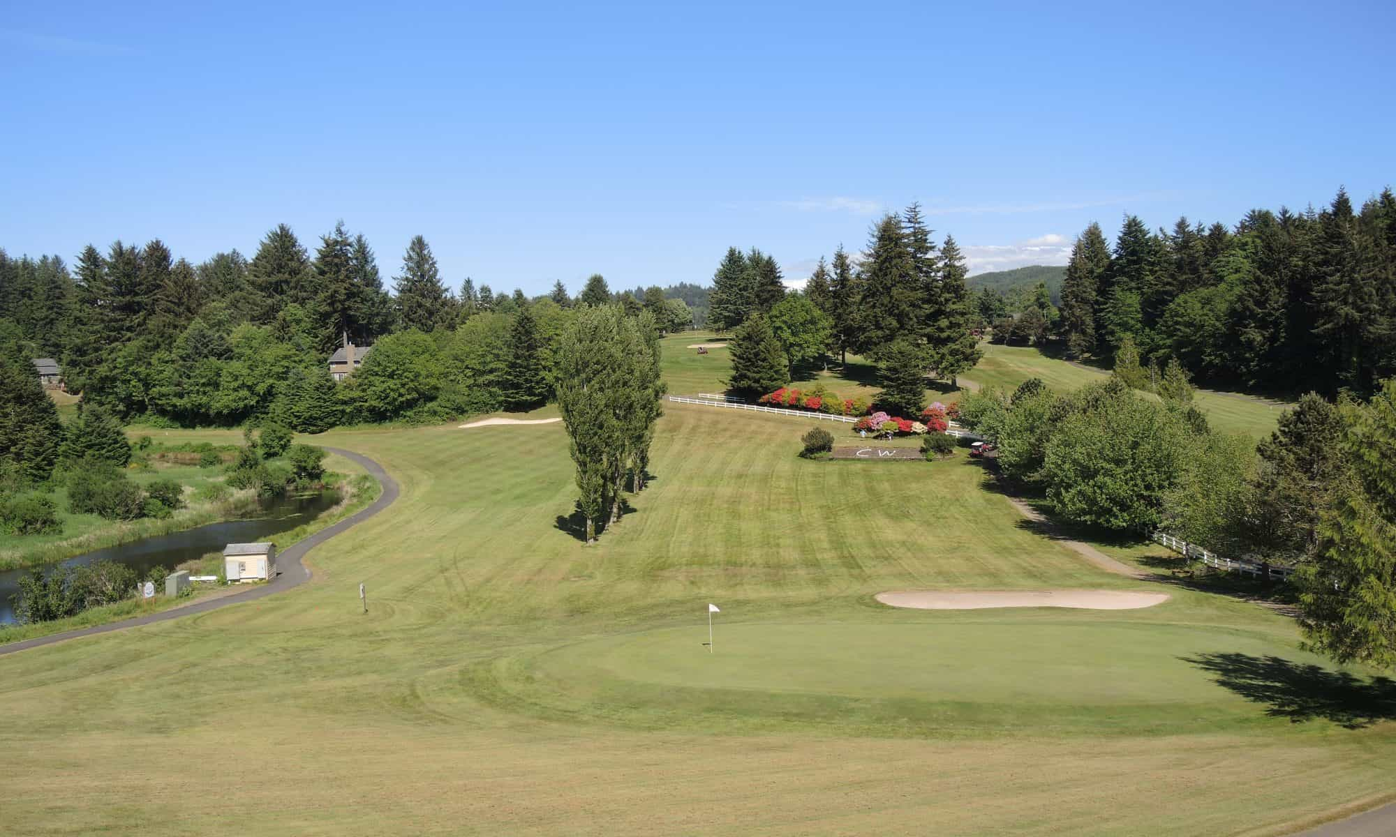 Chinook Winds golf Lincoln City