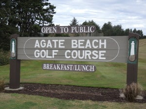 Agate Beach golf