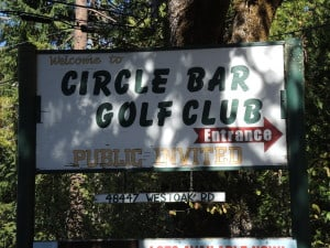 Circle Bar golf