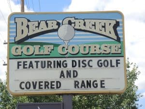 Bear Creek golf