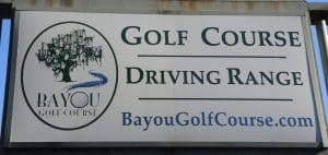Bayou golf