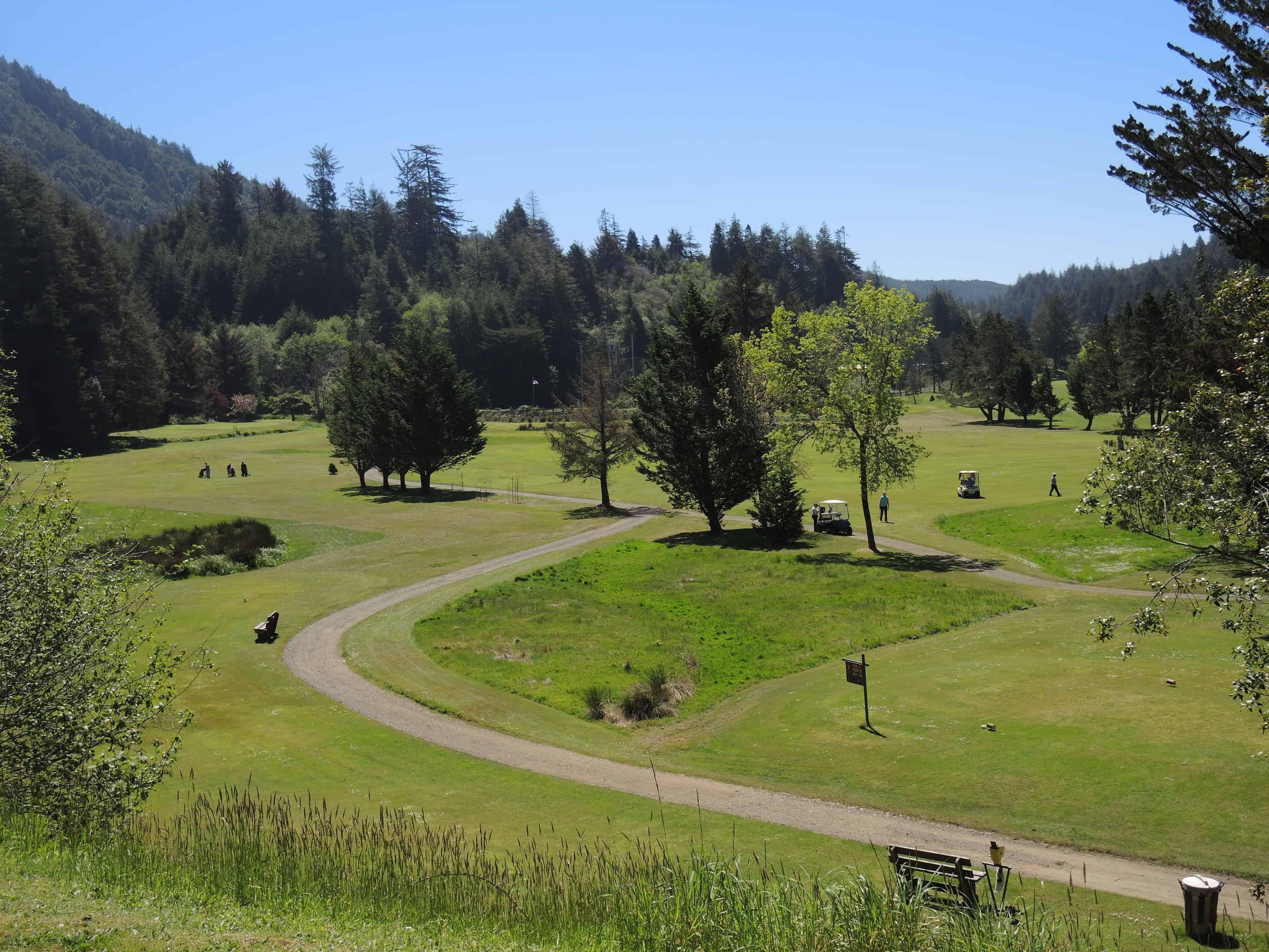 Cedar Bend golf Oregon Coast
