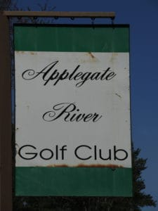 Applegate River golf