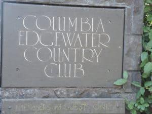 Columbia Edgewater