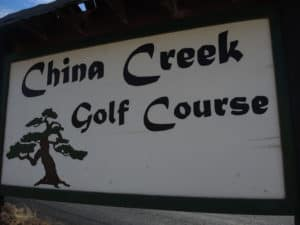 China Creek golf