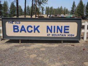 Old Back 9