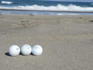 Golf Balls as Pollution